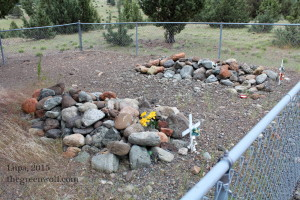 Unnamed outcasts buried at Boot Hill, Canyon City, Oregon. Long may they rest in peace.