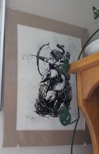 Artemis print by Sarah Frary